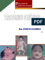 2. TRASTORNOS GENETICOS