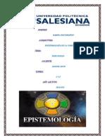 Portafolio EPISTEMOLOGÍA