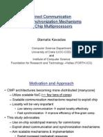 Direct Communicationand Synchronization Mechanismsin Chip Multiprocessors