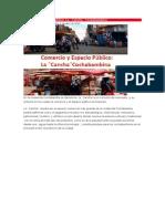 Comercio y Espacio Público