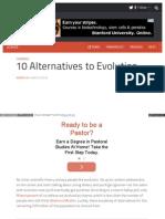 Listverse Com 2013 03-08-10 Alternatives to Evolution