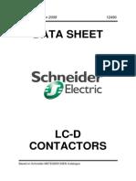 Schneider LC-D Contactors