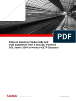 Improve Business With SQL2014 Dell WP