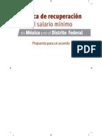 Politica de Recuperacion de Salarios Minimos