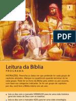 Programação de Leitura Da Bíblia