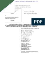 NFL Memorandum of Law Judge Berman