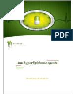 Anti hyperlipidemic agents