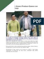SAIS Túpac Amaru Produce Queso Con Leche de Oveja