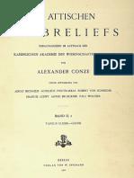 CONZE - Die Attischen Grabreliefs II Taf. 2 (1900)