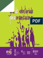 Guia de Voluntariado- Dinamicas de Trabajo Grupal
