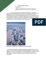 Clasificación Geomorfológica de Los Glaciares