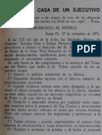 Panfleto Montonero 1971