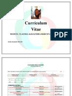Curriculum- Barcenas Correa Claudia