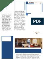 Genre Brochure