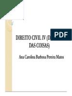 Ana Carolina Barbosa - Direito de Vizinhança