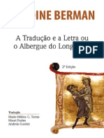Antoine Berman - Traducao e a Letra 2a Ed 2013