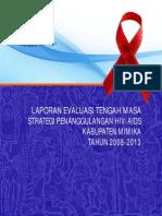 Evaluasi Renstra HIV Kab Mimika