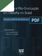 Pesquisa e Ps-Graduao Em Filosofia No Brasil ANPOF 2015