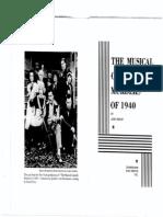 Musical Comedy Murders 1940