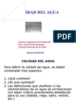 Calidad Del Agua 2012