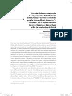AGUIRRE. La Importancia de La Historia de La Educación Como Contenido Para La Formación de Docentes