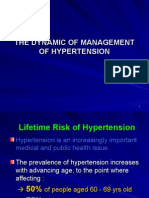 Management of Hypertention