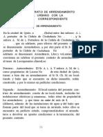 CONTRATO DE ARRENDAMIENTO DE LOCAL URBANO CON LEGISLACION CORRESPONDIENTE.doc