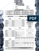 NWoD GodMachine Fractal Offspring Latent 2-Page Interactive