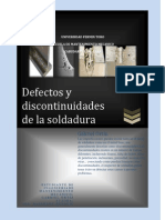 Defectos en Soldaduras