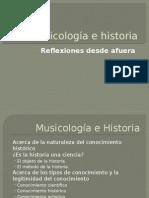 Musicología e Historia