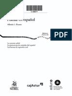 Hablar en Español - Alfredo I. Álvarez (Índice)