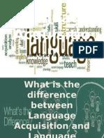 Language Acquisition Presentation