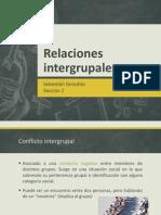 Clase 6 - Relaciones Intergrupales