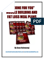 12 Meal Plans