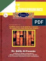 A Summary of Islamic Jurisprudence Volume 2