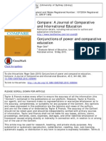 Conjunctions of Power and Comparative EducationConjunctions of Power and jComparative EducationConjunctions of Power and jComparative Education