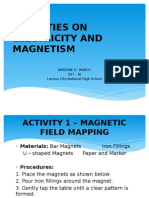 Activities on Electricity and Magnetism