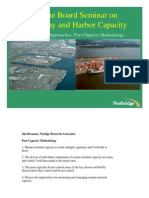 Measurement Approaches- Port Capacity Methodology