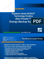 Depletion Mode Mosfet