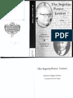 The Segovia - Ponce Letters - Alcazar