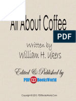 All About Coffee by William Ukers