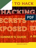 Hacking Secrets Exposed Book Pdf