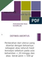 PPT Abortus Gani