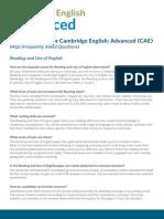 230316 Cambridge English Advanced Faqs