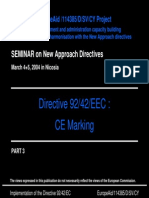 CE Mark HWB Training Part 3