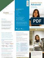 Cambridge English Advanced Leaflet
