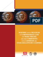 Blueprint for the Provision of Comprehensive Care for Trans Persons and their Communities in the Caribbean and Other Anglophone Countries