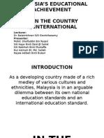 Malaysia education blueprint 2013 2025 executive summary programme report and analysis of malaysias educational achievementpptx malvernweather Choice Image