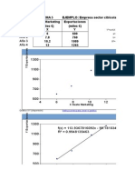 Regresión Aplicaciones en Excel