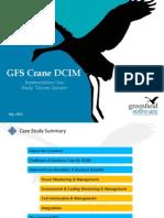 Case Study DCIM Implementation Telecom Operator - GFS Crane